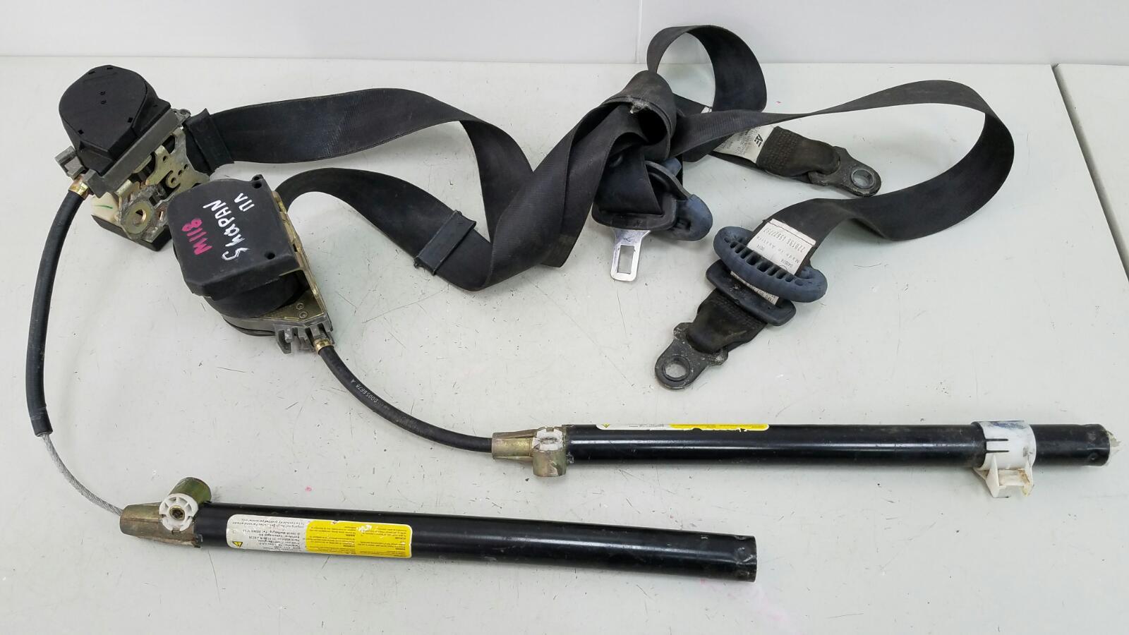 Ремень безопасности с пиропатроном Volkswagen Sharan 7M8 AMY 1999 передний