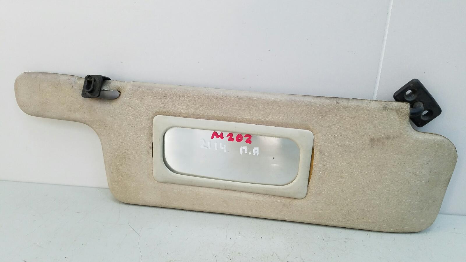 Козырек солнцезащитный Ваз Лада Самара 2 21140 2111 1.5Л 8КЛ 2006 передний правый