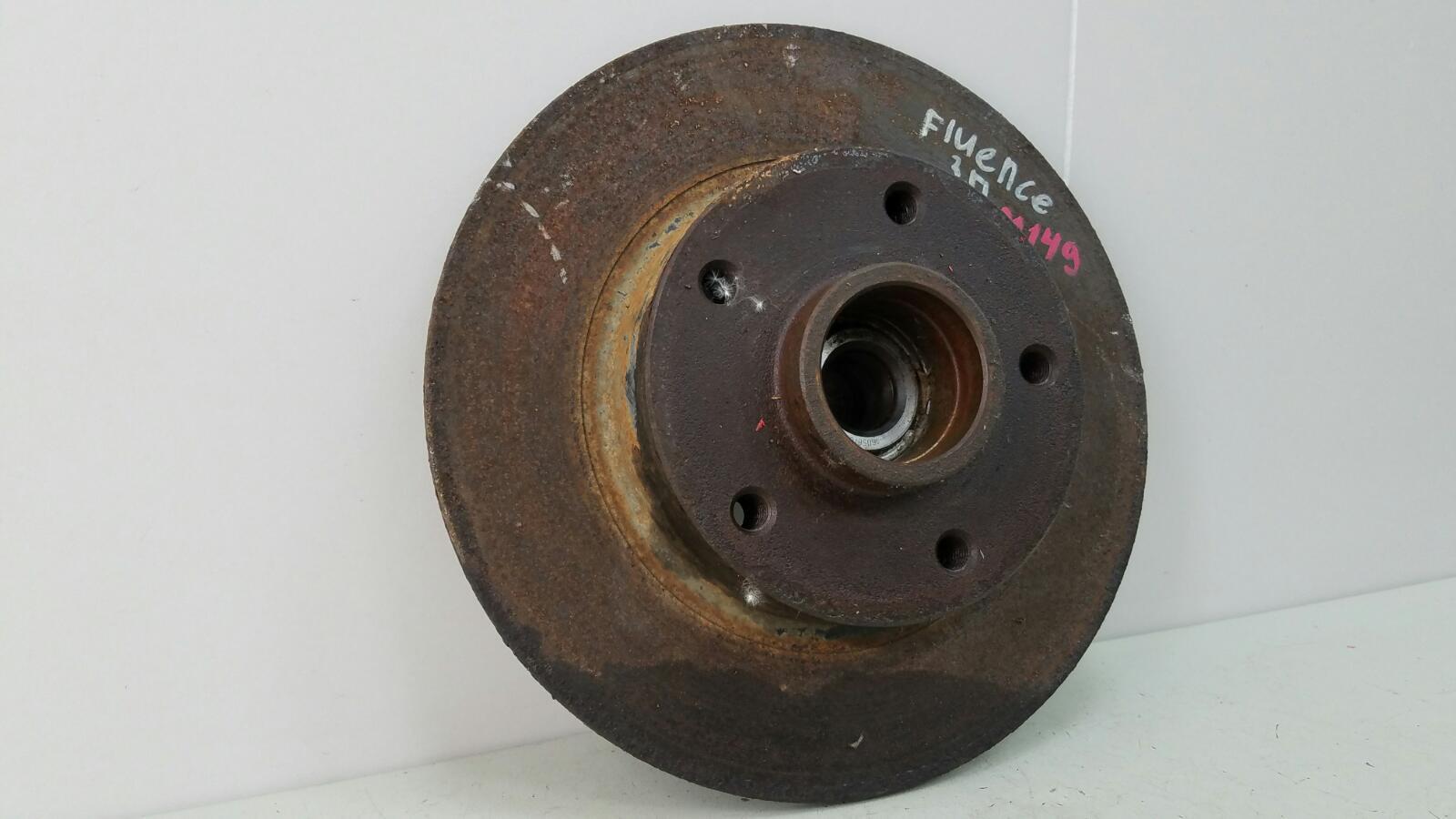 Тормозной диск Renault Fluence L30 K4M 2012 задний правый