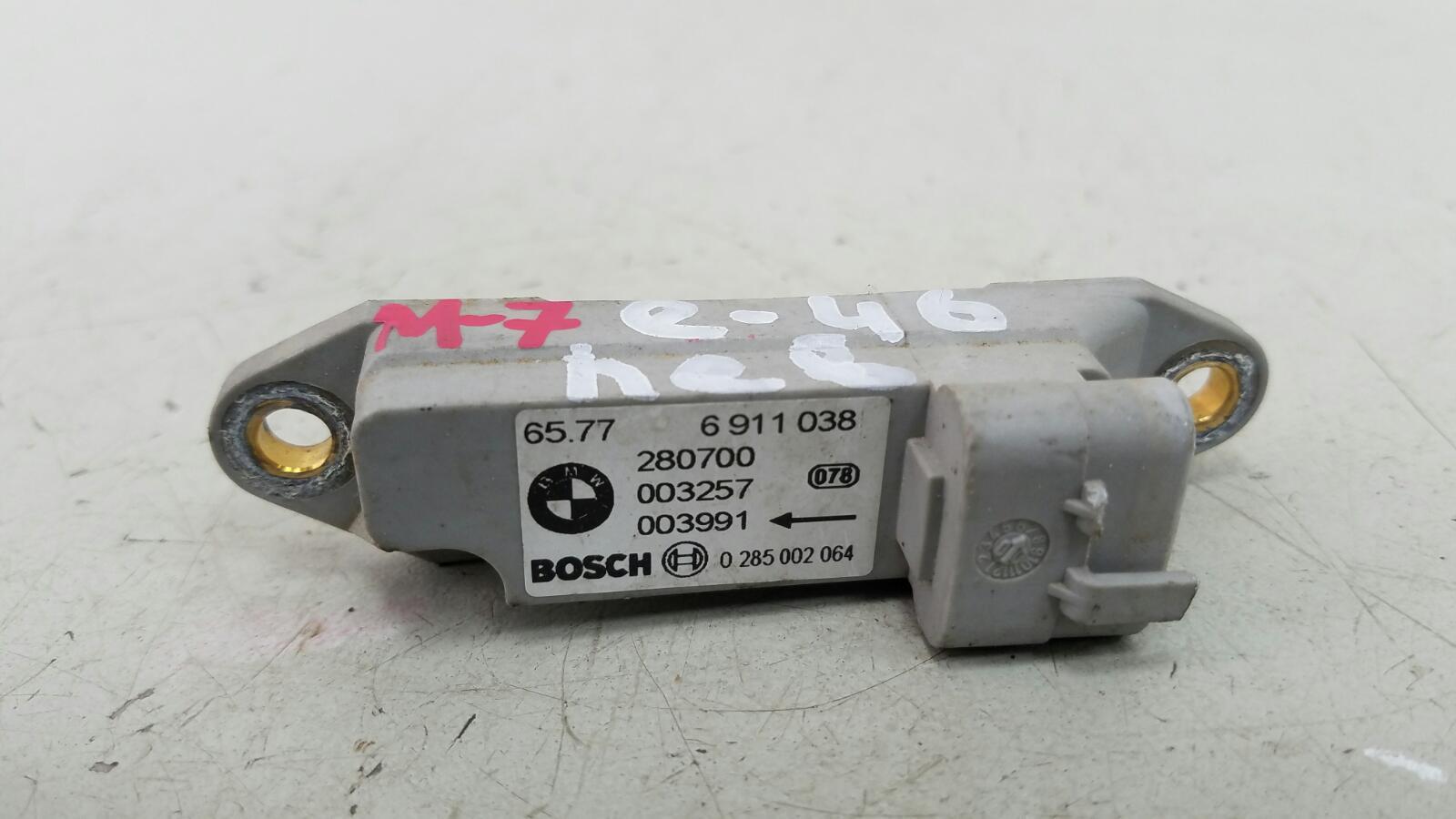 Датчик удара srs airbag Bmw 320D E46 M47 2000