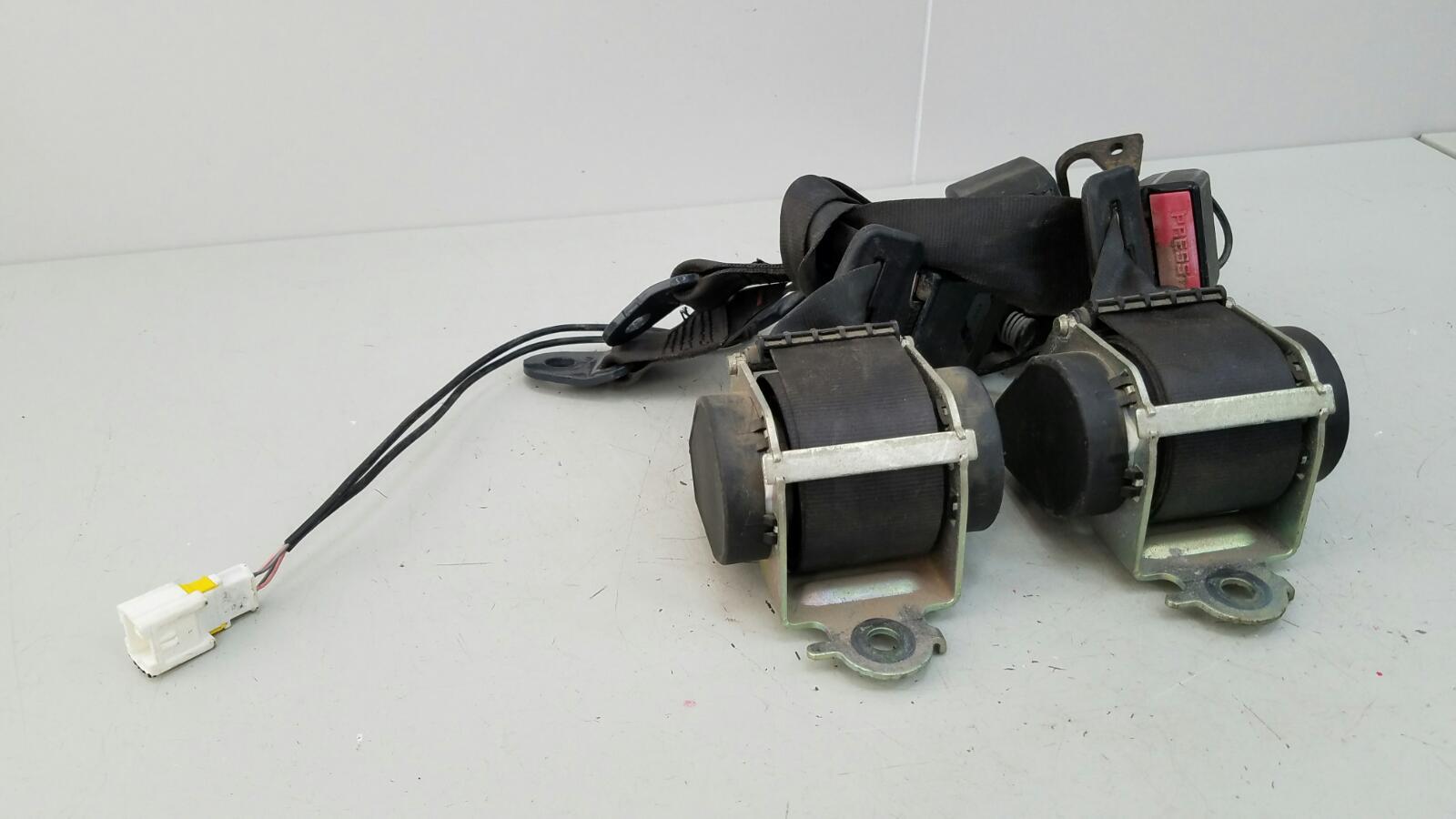 Комплект ремней безопастности Citroen C4 LA NFU 2007 задний