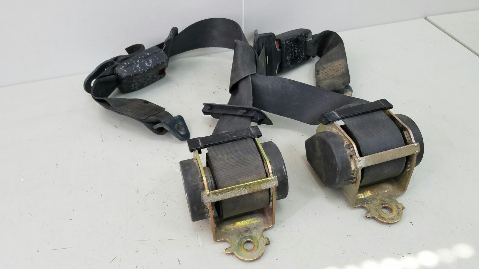 Комплект ремней безопастности Peugeot 206 KFW (TU3JP) 1.4Л 2007 задний