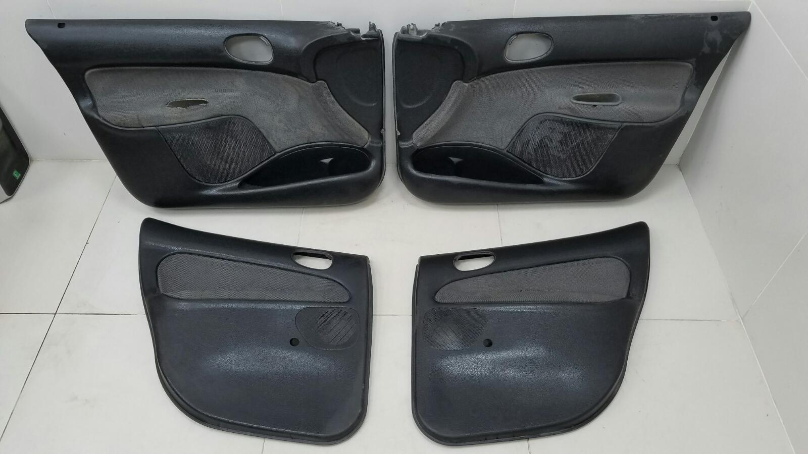 Комплект обшивок карт дверей Peugeot 206 KFW (TU3JP) 1.4Л 2007