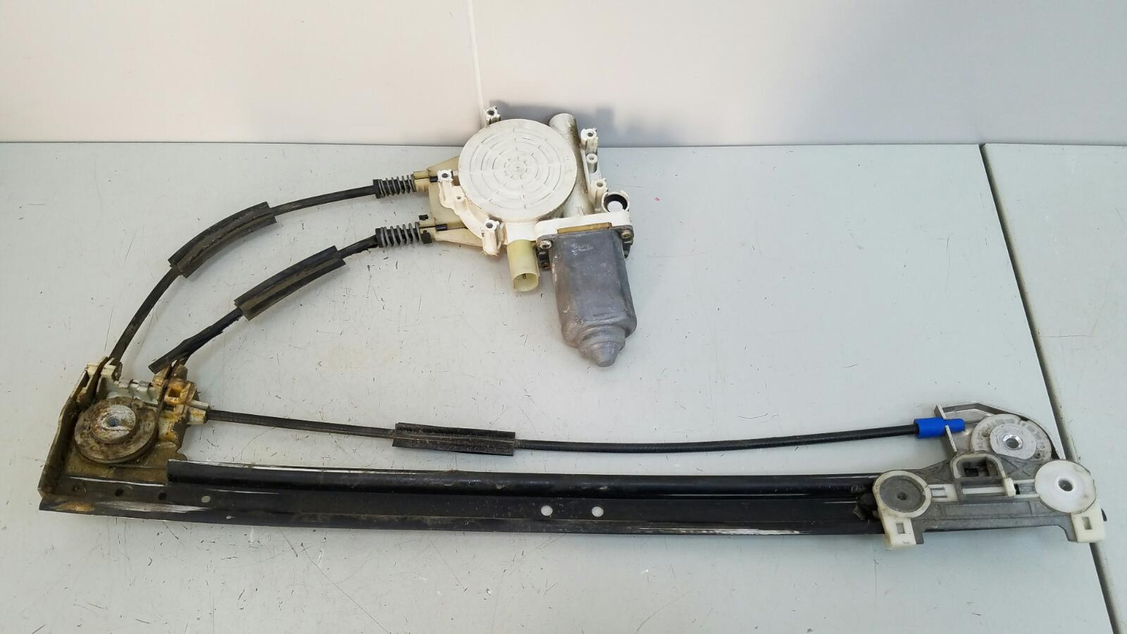 Стеклоподъемник электрический Bmw 5 E39 M52 1998 задний правый