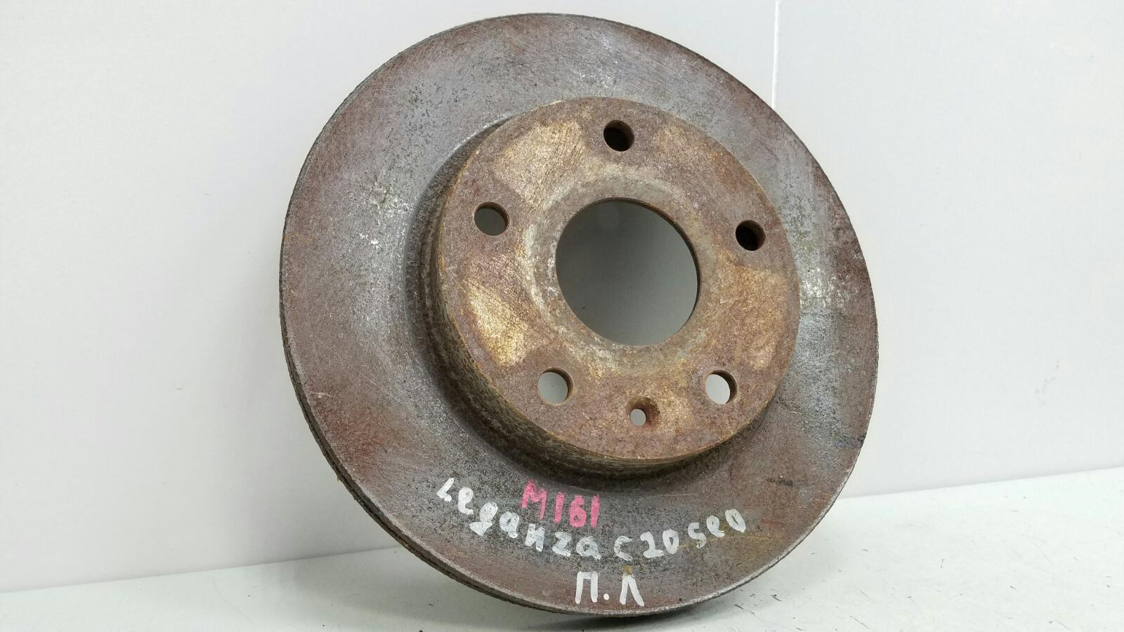 Тормозной диск Daewoo Leganza C20SED 2.0Л 1998 передний левый