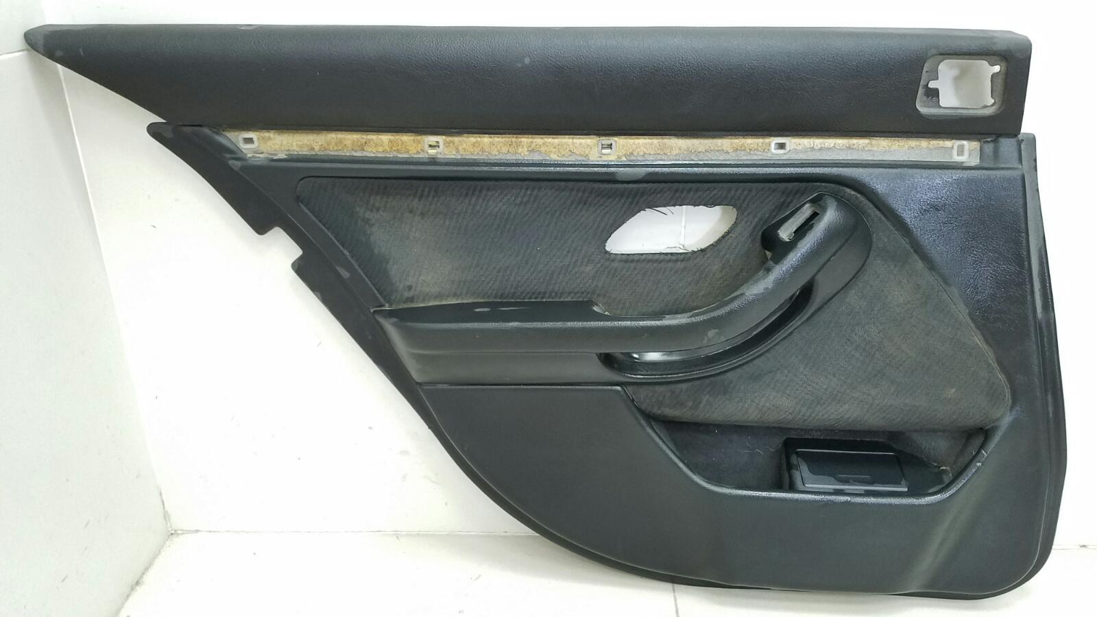 Обшивка карта двери Bmw 5 E39 M52 1998 задняя левая