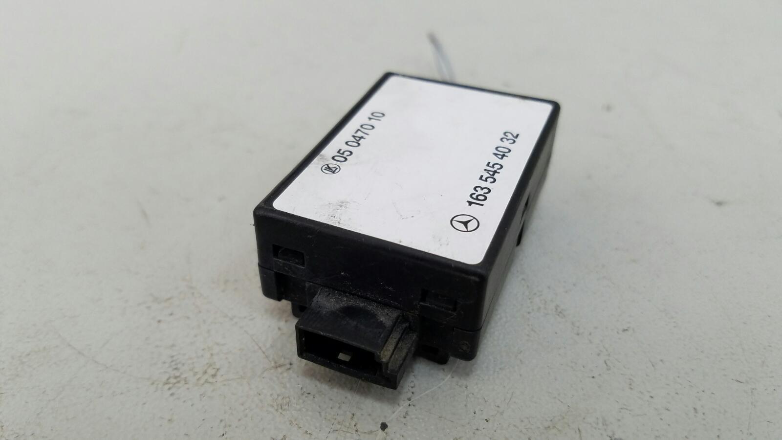 Блок иммобилайзера Mercedes Ml430 W163 M113.942 1999