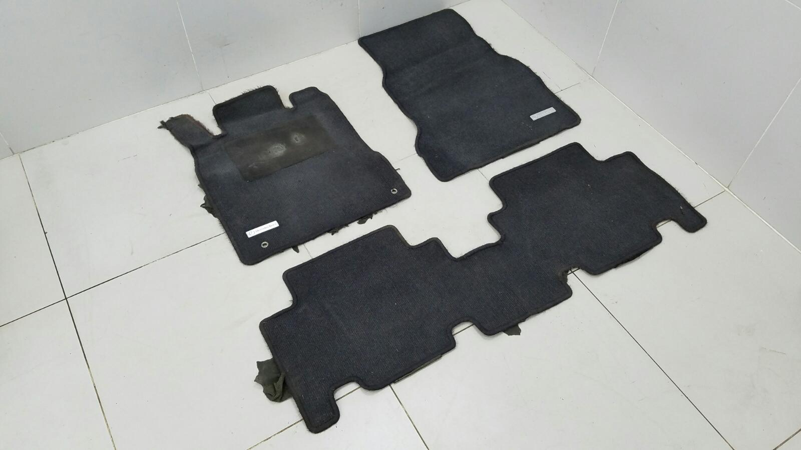 Комплект салонных ковриков Mercedes A140 W168 M166.940 1.4Л 1999г