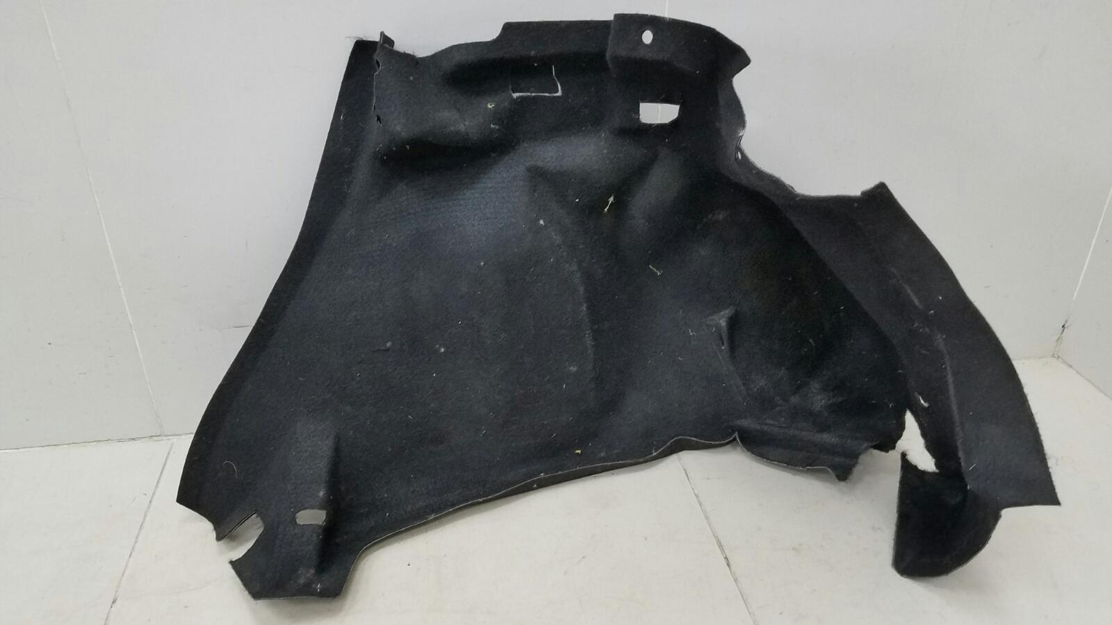 Обшивка багажника Citroen C4 LA NFU 2007 задняя правая