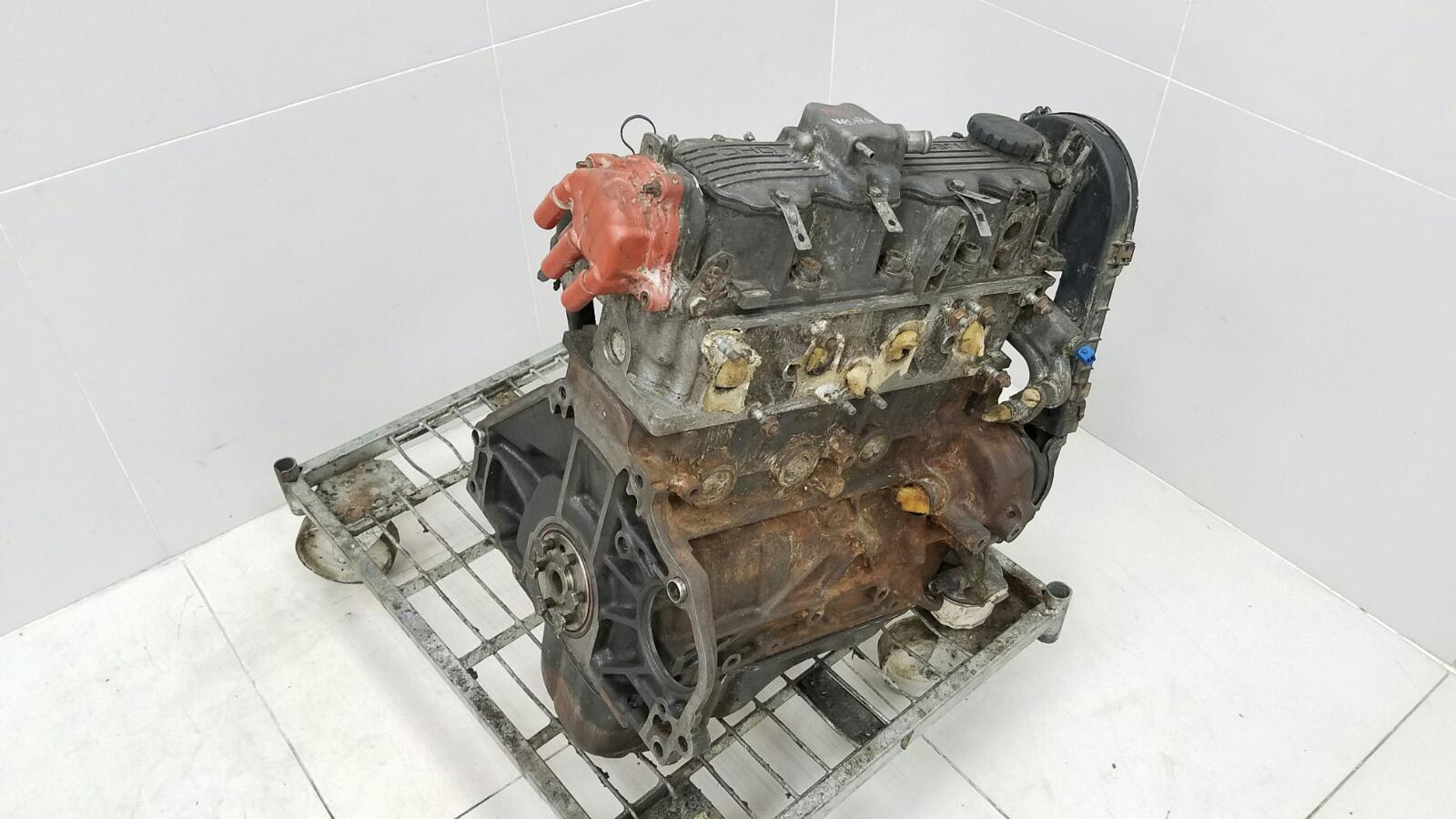 Двигатель двс Opel Vectra A 86_ C18NZ 1.8Л 1992г