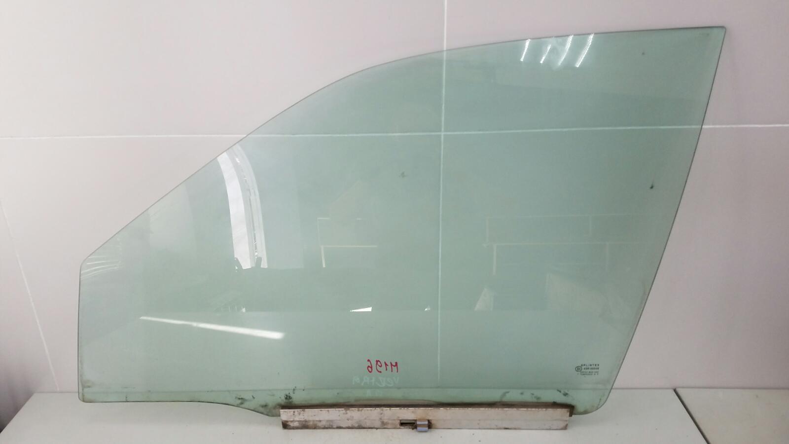 Стекло двери Opel Vectra A 86_ C18NZ 1.8Л 1992г переднее левое