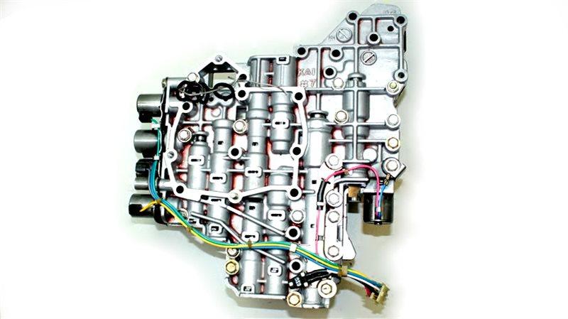 Гидроблок акпп Nissan X-Trail QR25DE