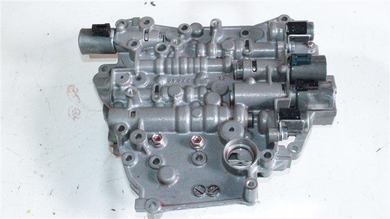 Гидроблок акпп Toyota Vitz NCP131 1NZFE