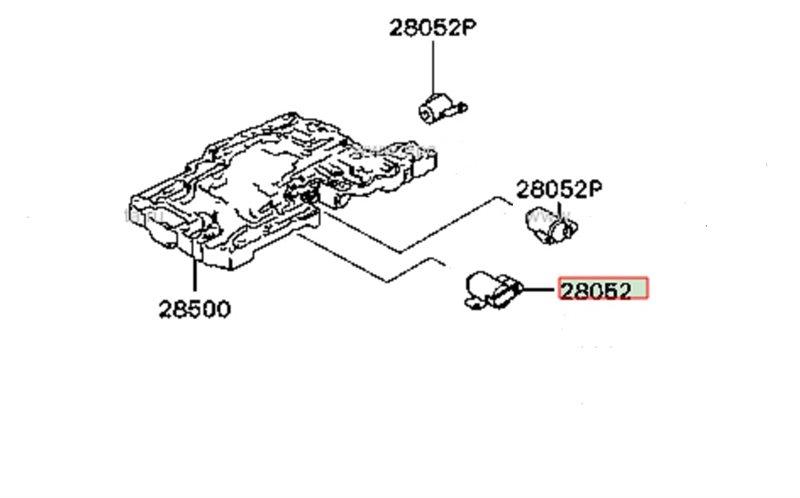 Соленоид акпп Mitsubishi 4M40