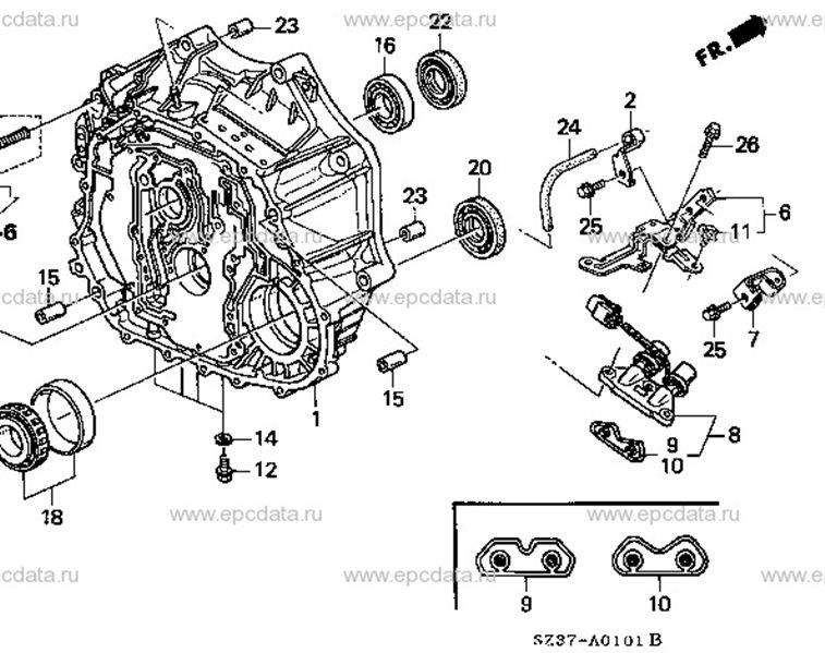 Соленоид акпп Honda Legend KA9 C35A