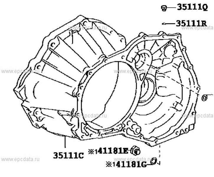Колокол акпп Suzuki Kei M13A