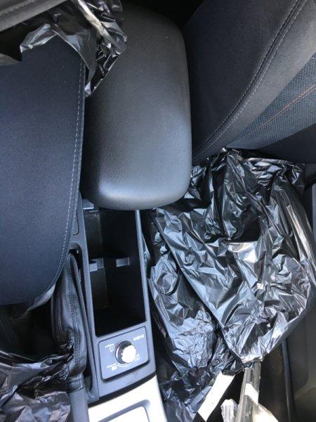 Бардачок между сиденьями Subaru Forester SH5 EJ205 2008