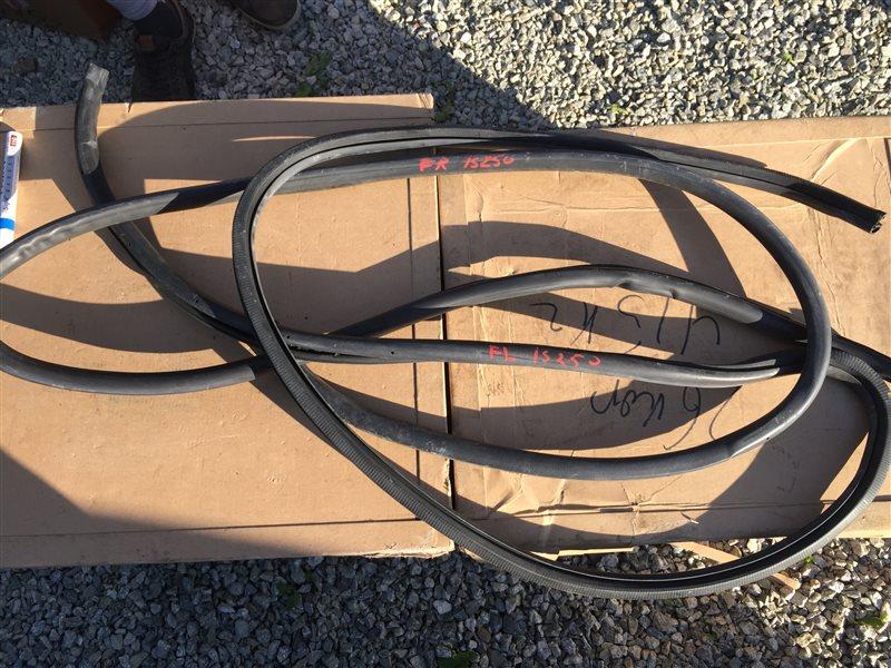 Уплотнительная резинка дверей Lexus Is250 GSE20 4GRFSE 2007 задняя левая