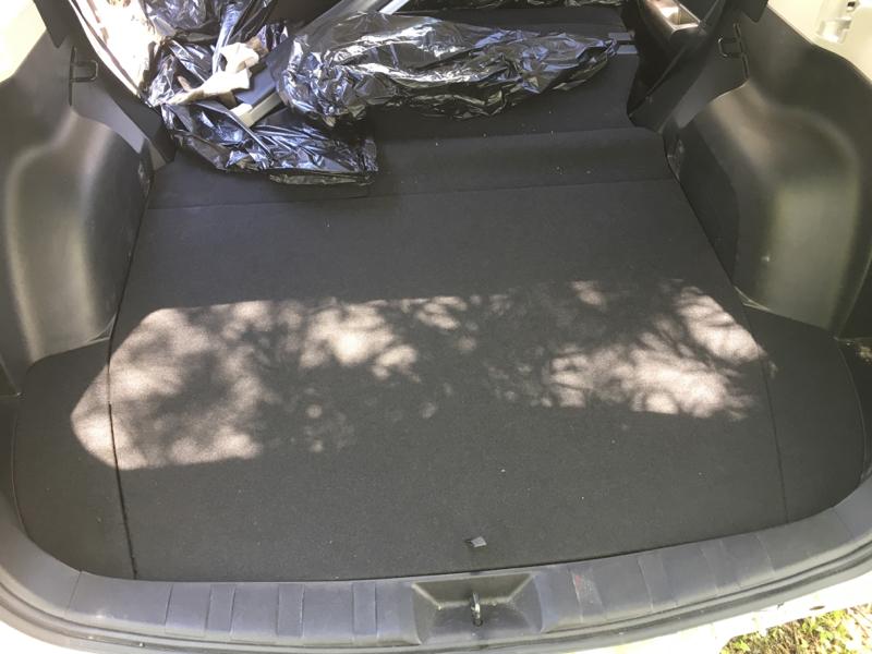 Пол багажника пластик Subaru Forester SH5 EJ205 2008
