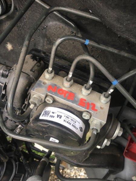 Блок управления abs Nissan Note E12 HR12DDR 06.2013