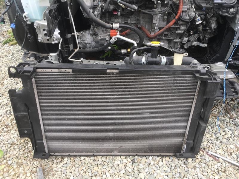 Радиатор основной Toyota Aqua NHP10 1NZFXE 2012