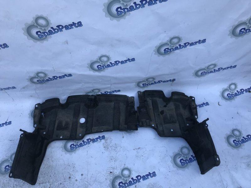 Защита двс Toyota Aqua NHP10 1NZFXE 2012 правая