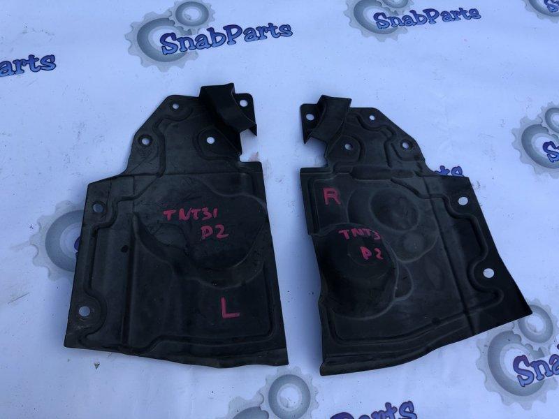 Защита двс Nissan X-Trail TNT31 QR25DE 2012 правая