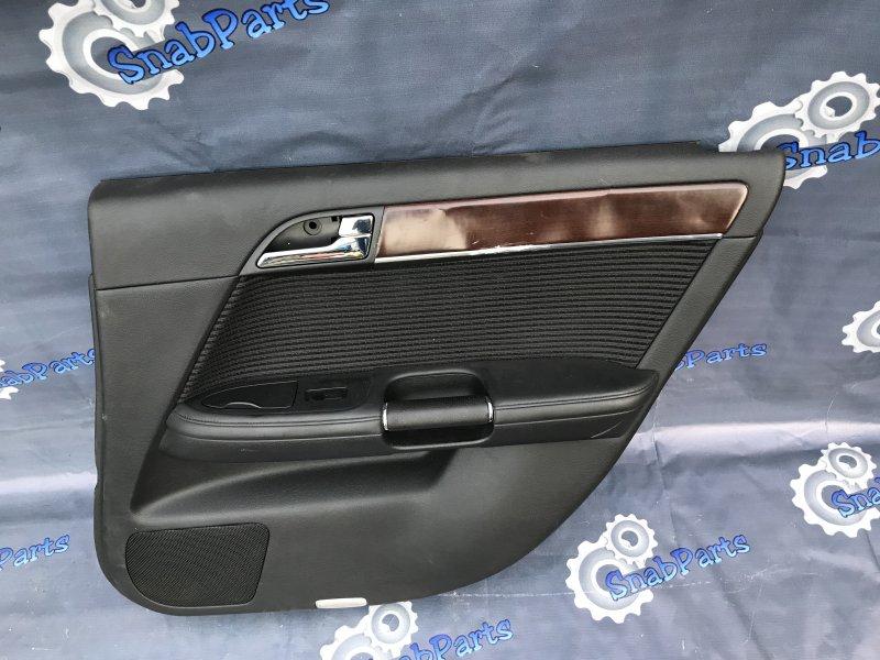 Обшивка дверей Nissan Fuga PNY50 VQ35HR 2008 задняя правая