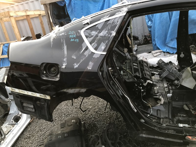 Крепление бампера Nissan Fuga PNY50 VQ35HR 2008 заднее правое