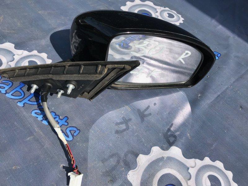 Зеркало Nissan Fuga PNY50 VQ35HR 2008 правое