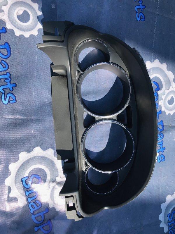 Консоль под щиток приборов Nissan Fuga PNY50 VQ35HR 2008