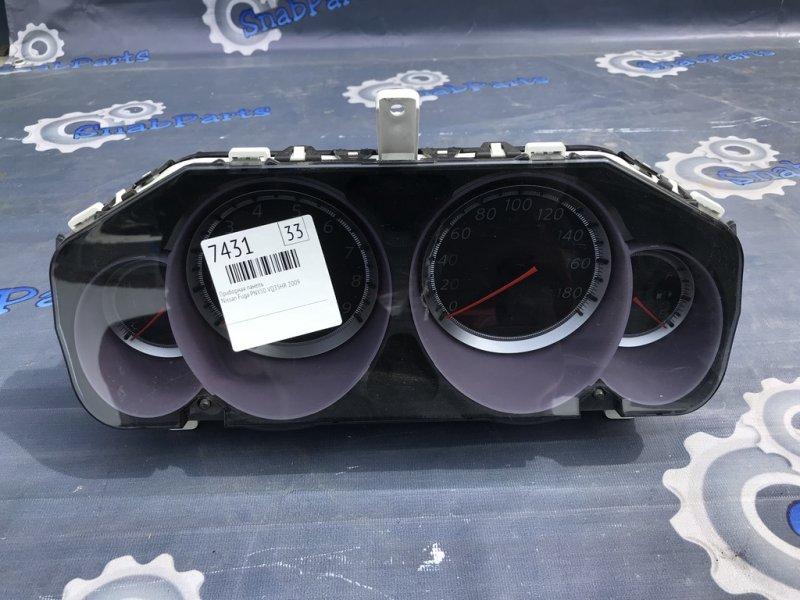 Приборная панель Nissan Fuga PNY50 VQ35HR 2009
