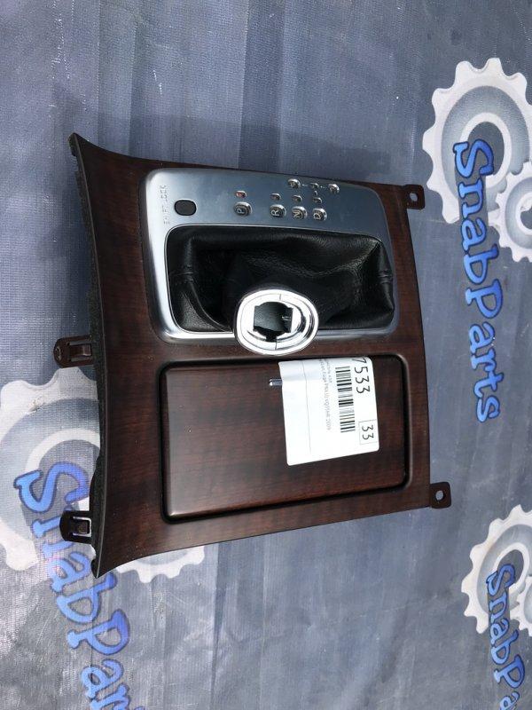Консоль кпп Nissan Fuga PNY50 VQ35HR 2009