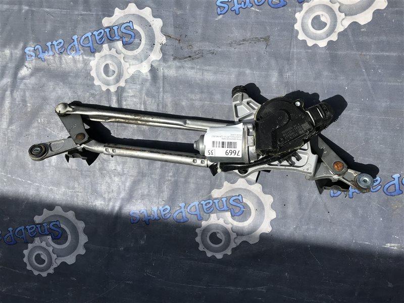 Мотор дворников Toyota Premio ZRT265 2ZR-FAE 2012 передний