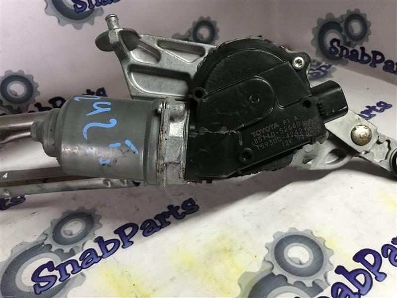 Мотор дворников Toyota Aqua NHP10 1NZFXE 2012 передний