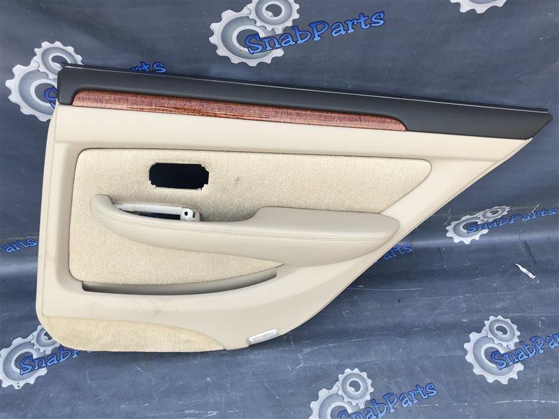Обшивка дверей Toyota Brevis JCG10 1JZ-FSE 2006 задняя правая
