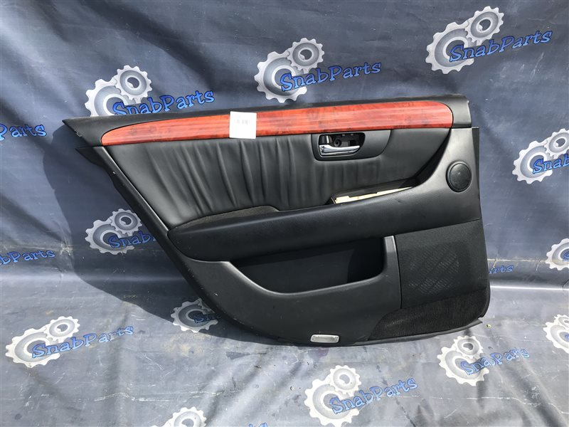 Обшивка дверей Toyota Celsior UCF31 3UZ-FE 2004 задняя левая