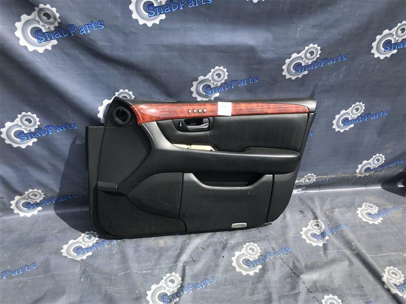Обшивка дверей Toyota Celsior UCF31 3UZ-FE 2004 передняя правая