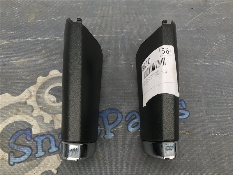 Вставки ниже магнитолы обе Toyota Allion ZRT265 2ZR-FAE 2012