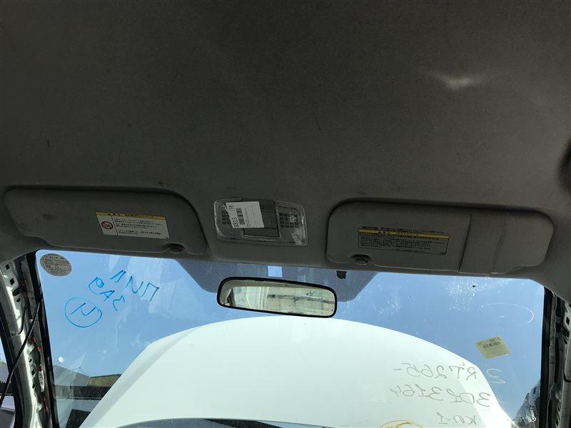 Козырек солнцезащитный Toyota Allion ZRT265 2ZR-FAE 2012 левый