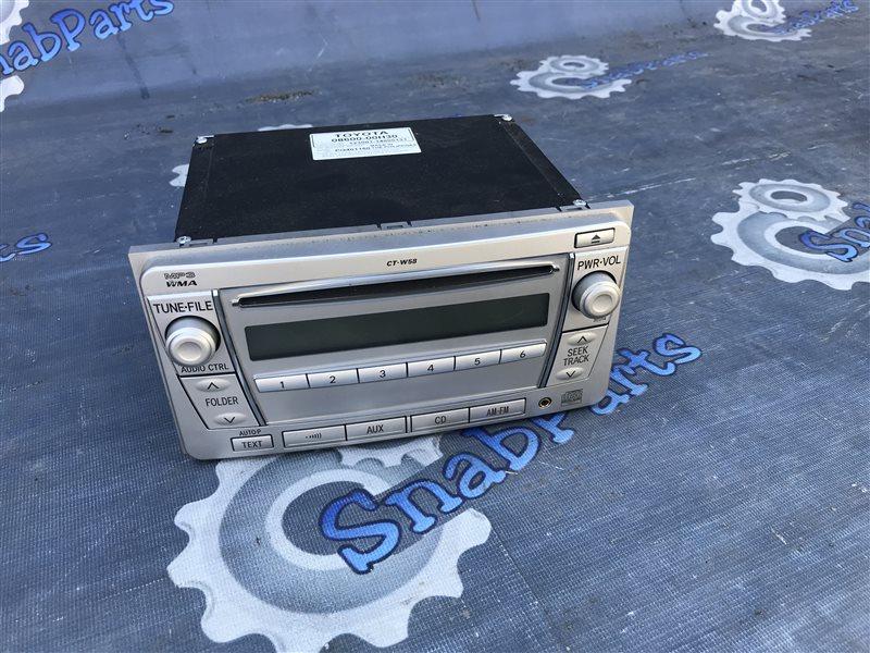 Магнитофон Toyota Allion ZRT265 2ZR-FAE 2012
