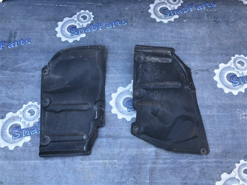 Защита двс Toyota Prius ZVW30 2ZR-FXE 2010 левая