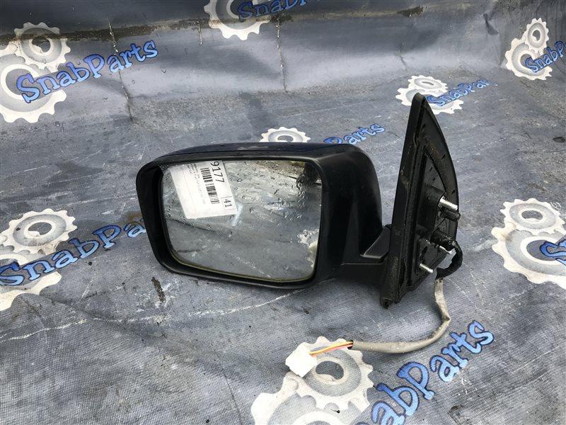 Зеркало Nissan X-Trail TNT31 QR25DE 2008 левое