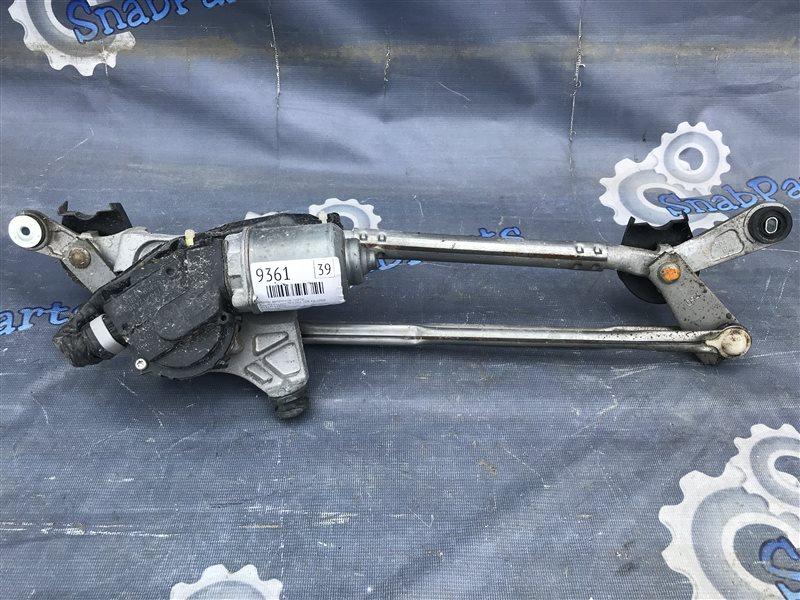 Мотор дворников Toyota Premio ZRT265 2ZR-FE 2008 передний