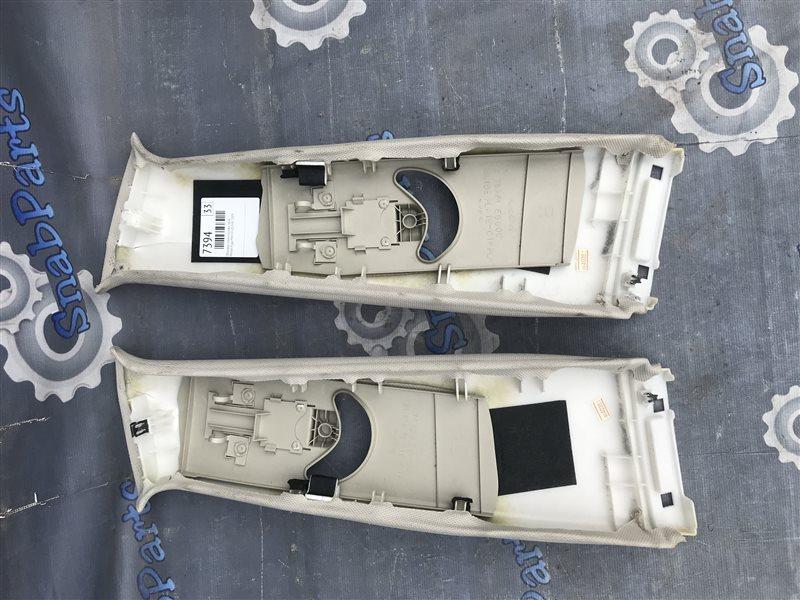 Обшивка стойки кузова Nissan Fuga PNY50 VQ35HR 2009 левая
