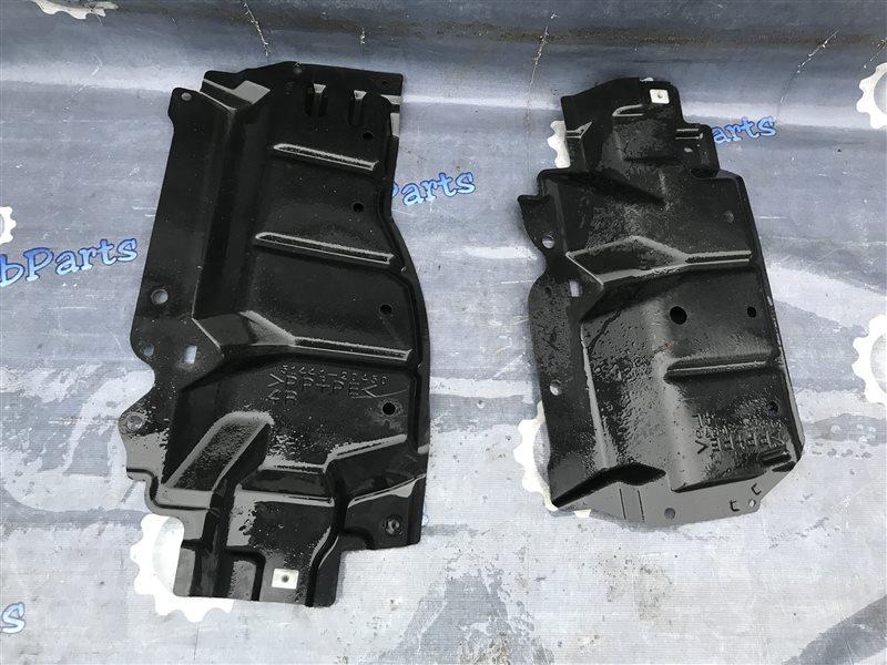 Защита двс Toyota Allion ZRT265 2ZR-FE 2008 левая