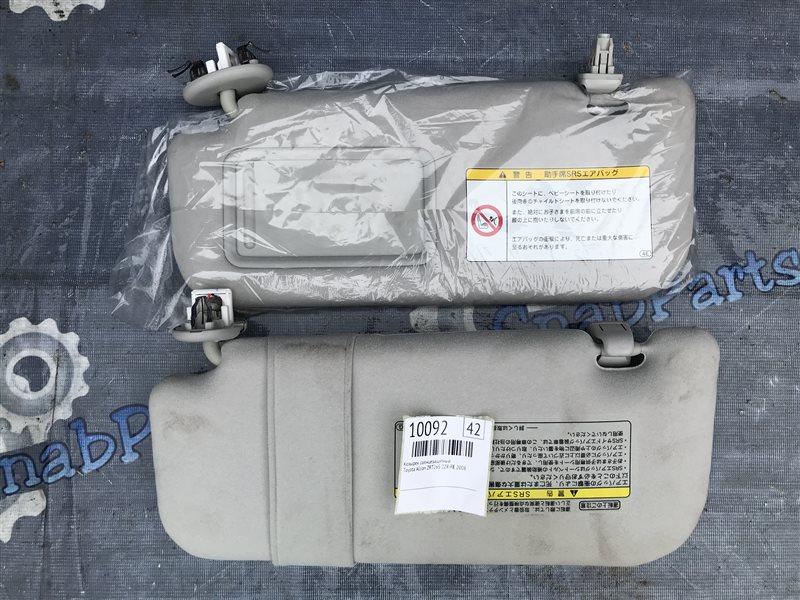 Козырек солнцезащитный Toyota Allion ZRT265 2ZR-FE 2008