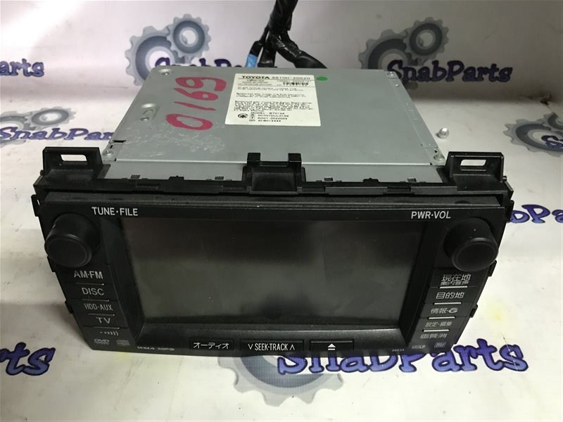 Магнитофон Toyota Premio ZRT265 2ZR 2008