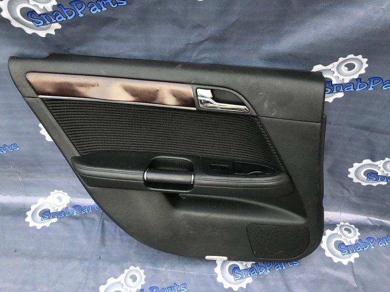 Обшивка дверей Nissan Fuga PNY50 VQ35HR 2008 задняя левая