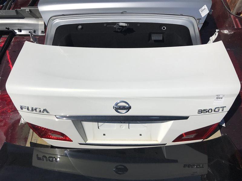 Крышка багажника Nissan Fuga PNY50 VQ35HR 2009